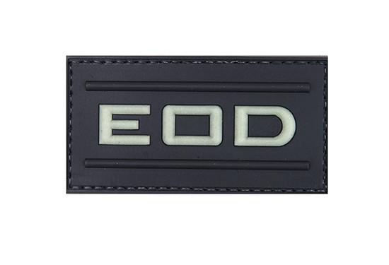 Нашивка 3D – EOD - świecąca w ciemności [GFC Tactical] (для страйкбола)