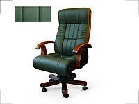 Кресло руководителя Мурано зеленое (Диал ТМ)