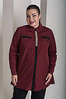 Крассическая женская рубашка в деловом стиле с 48 по 82 размер