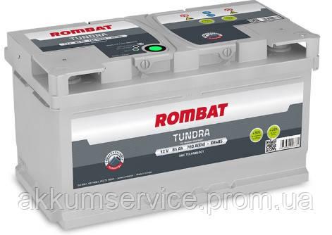 Аккумулятор автомобильный ROMBAT TUNDRA 85AH R+ 760A (EB485)