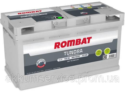 Аккумулятор автомобильный ROMBAT TUNDRA 100AH R+ 900A (E5100)