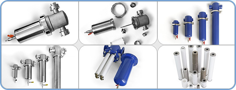 Фильтры очистки сжатого воздуха и других неагрессивных газов