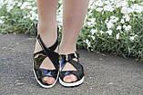 Босоножки летние лаковые. Подошва: черная и белая. Разные расцветки. Размеры: 36-42, код 4654О, фото 3
