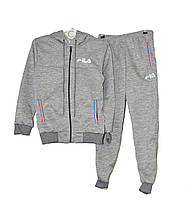 Детский спортивный костюм 36/44, 5 шт, серый