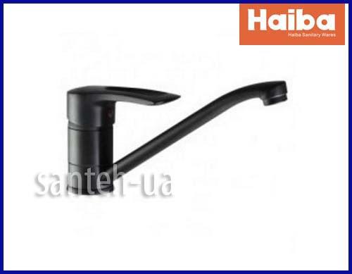 Смеситель для кухни HAIBA HANSBERG 004 BLACK HB0178