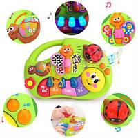 Музыкальная игрушка для малышей от 6 месяцев Веселое пианино