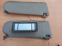 Солнцезащитные козырьки с подсветкой Audi 100 A6 C4 91-97г