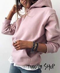 Женская стильная толстовка с капюшоном ,в расцветках