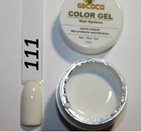 Цветной гель СОСО № 111 (белый)