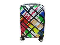 Красивый и надежный чемодан из поликарбоната малого размера Madisson 82548I