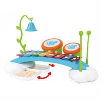 Игрушка для малышей от 18 месяцев Ксилофон-радуга  - необычный развивающий музыкальный центр для малышей