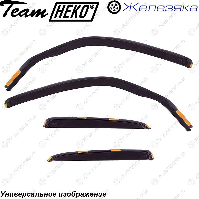 Ветровики Renault Megane II Sd 2002 (HEKO)
