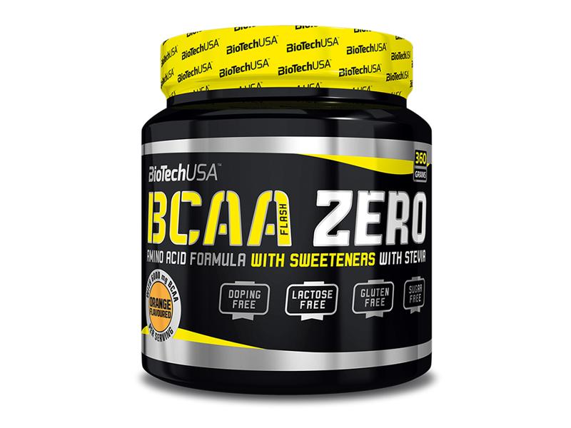 Аминокислоты БЦАА Biotech Bcaa Zero 360g (персиковый чай)