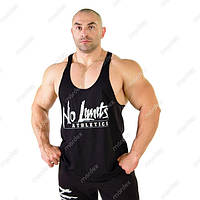No Limits, Майка  Athletics Workout Tank Top MD6024 черная