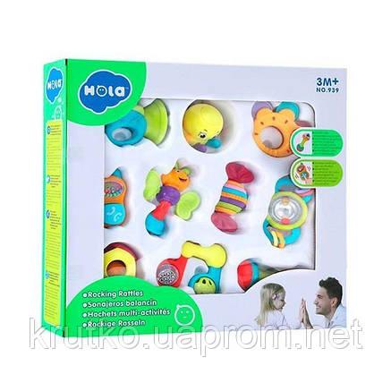 Набор погремушек Hola Toys, 10 шт. (939), фото 2