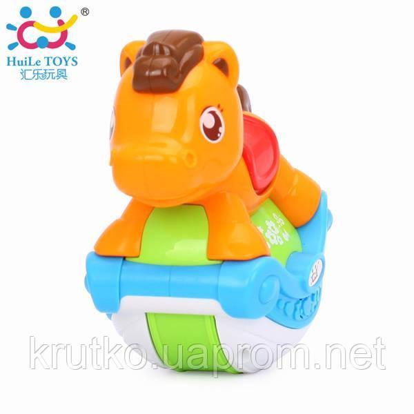 "Игрушка Huile Toys ""Музыкальная лошадка"" (3105ABC-B)"