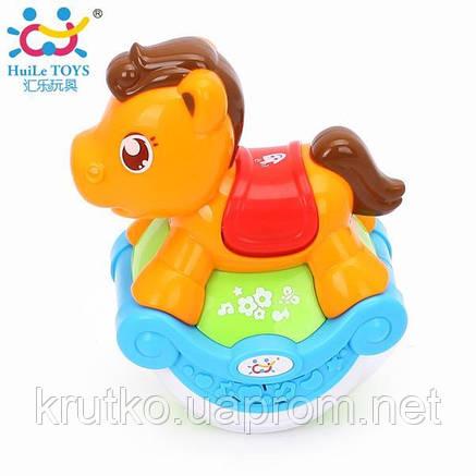 "Игрушка Huile Toys ""Музыкальная лошадка"" (3105ABC-B), фото 2"