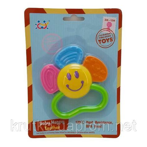 """Прорезыватель для зубов Huile Toys """"Цветочек"""" (919-3), фото 2"""