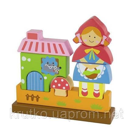 """Пазл Viga Toys """"Красная Шапочка"""" (50075), фото 2"""
