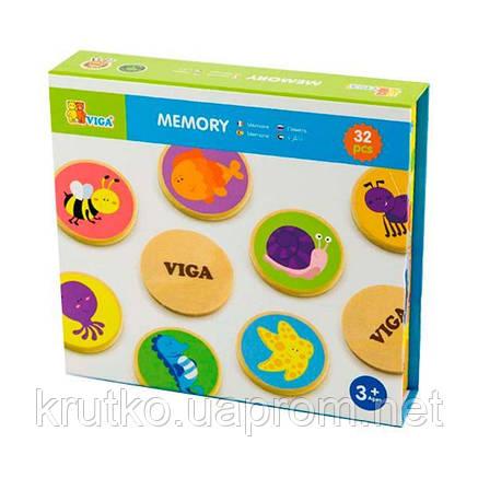 """Настольная игра Viga Toys """"Memory"""" 32 карточки (50126), фото 2"""