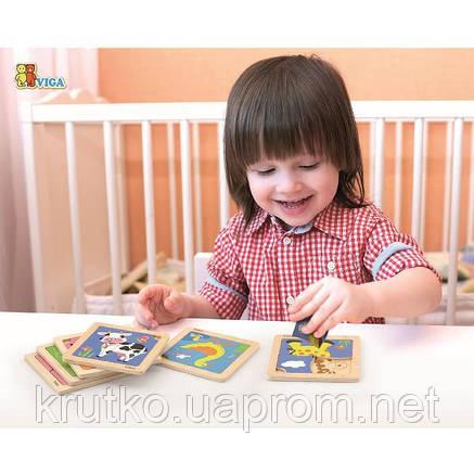 """Пазл Viga Toys """"Краб"""" (50146), фото 2"""