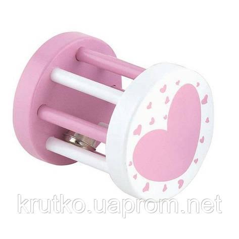 "Погремушка Viga Toys ""Цилиндр"", розовый (50396), фото 2"