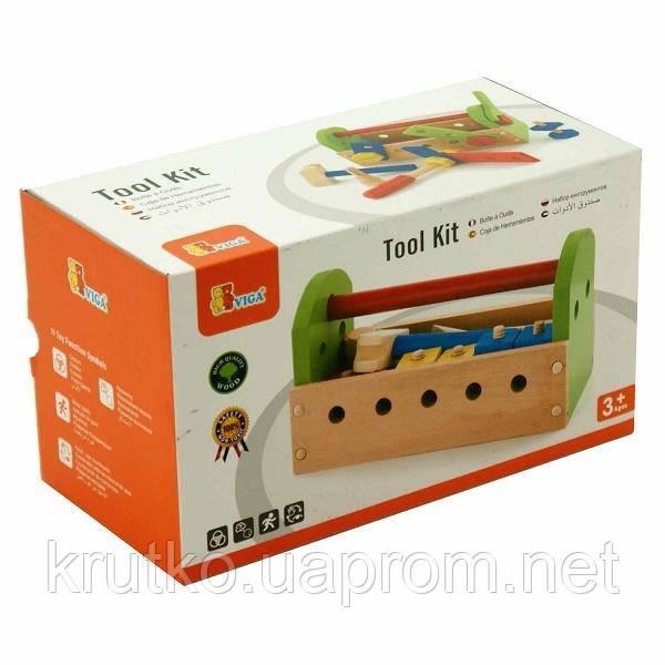 """Набор Viga Toys """"Ящик с инструментами"""" (50494)"""