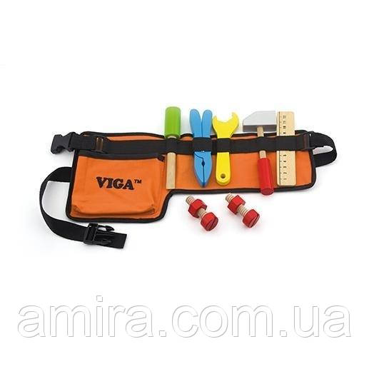 """Игрушка Viga Toys """"Пояс с инструментами"""" (50532)"""