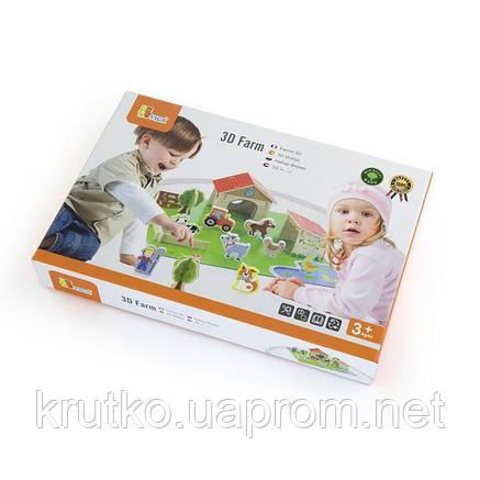 """Игровой набор Viga Toys """"Ферма"""", 30 элементов (50540), фото 2"""