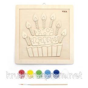 "Набор для творчества  Viga Toys ""Своими руками. Торт"" (50684), фото 2"