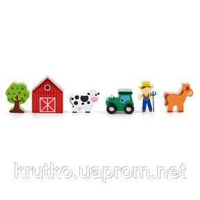 "Доп. набор к ж/д Viga Toys ""Ферма"" (50812), фото 2"