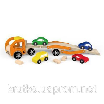 "Игрушка Viga Toys ""Автотрейлер"" (50825), фото 2"