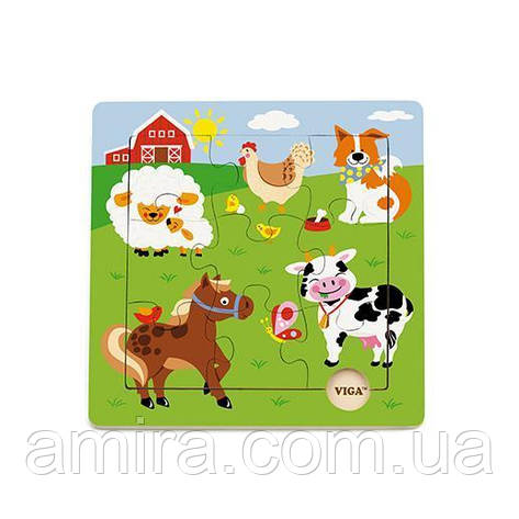 "Пазл Viga Toys ""Ферма"" (50837), фото 2"