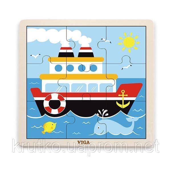 """Пазл Viga Toys """"Корабль"""" (51445)"""