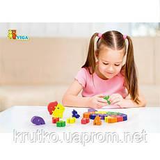 """Пазл Viga Toys """"Черепаха"""" (55250), фото 3"""