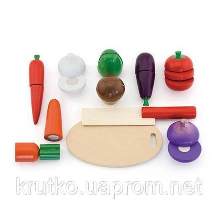 """Игровой набор Viga Toys """"Овощи"""" (56291), фото 2"""