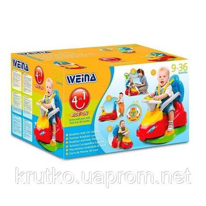 "Игрушка Weina машинка-каталка ""Делюкс"" (2133), фото 2"