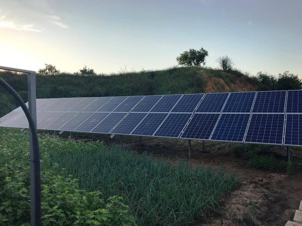 """Кривой Рог солнечная электростанция под """"зеленый"""" тариф мощностью 17,9 кВт Risen + Huawei Днепропетровская область"""