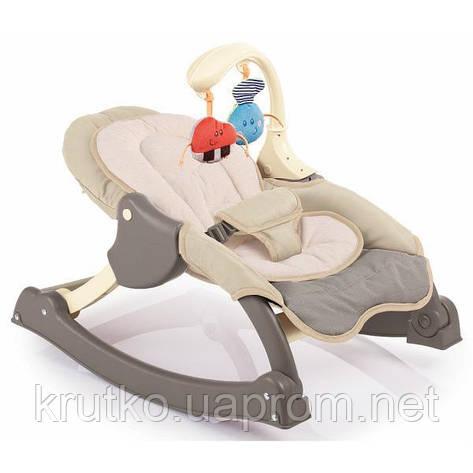 Кресло-качалка Weina MusiCozzi Joy, шоколадный (4011.101.01), фото 2