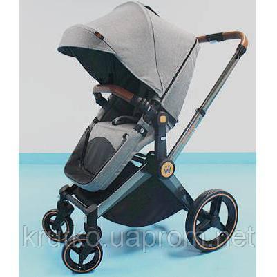 Детская коляска Welldon 2 в 1 (графитовый) WD007, фото 2