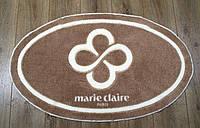 Овальный коврик для ванной  66х107 Marie Claire SALLY коричневый, фото 1