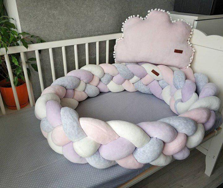 "Дитяча декоративна подушка в ліжко ""Хмарка"""