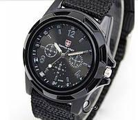 Часы мужские  SWISS ARMY —черные