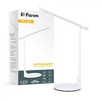 Настольная светодиодная лампа 8Вт DE1140 белая