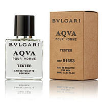 Bvlgari Aqva Pour Homme EDT 50ml TESTER (туалетная вода Булгари Аква Пур Хом тестер)