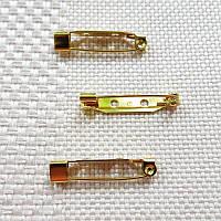 Основа для броши, Япония, 25 мм, золото
