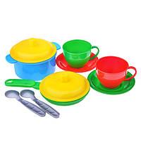 Набор посуды (10 предметов),детская посудка