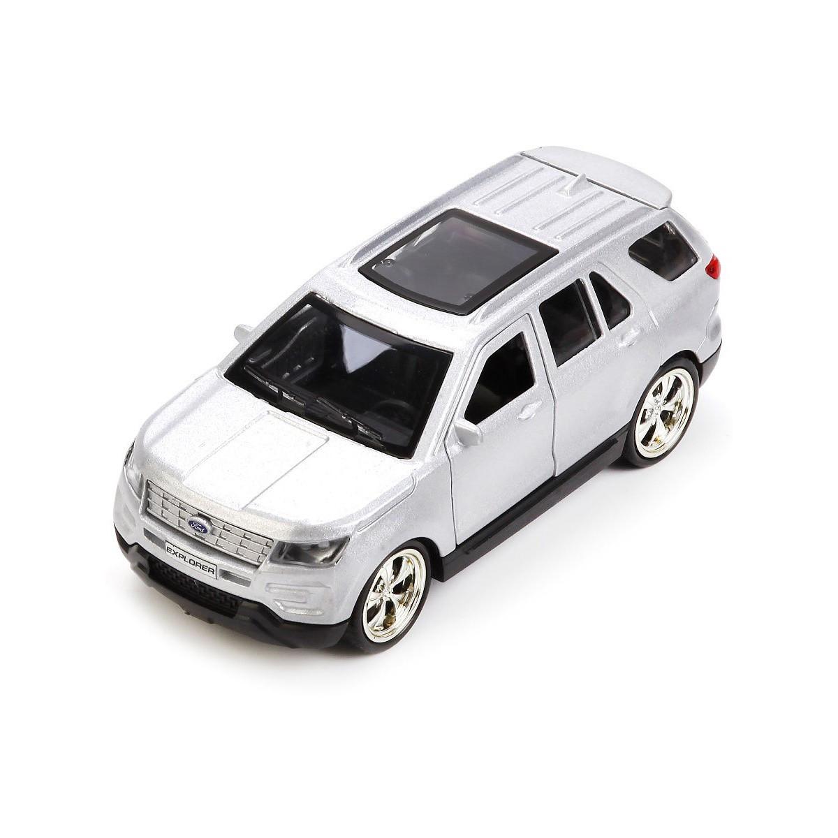 Автомодель - FORD EXPLORER (1:32, сірий) Technopark EXPLORER-MIXG