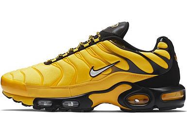 Мужские кроссовки Nike Air Max Plus Yellow/Black