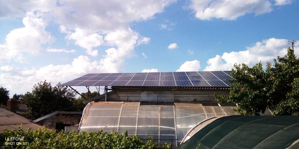 """Кривой Рог солнечная электростанция под """"зеленый"""" тариф мощностью 12 кВт Amerisolar + Huawei Днепропетровская область"""